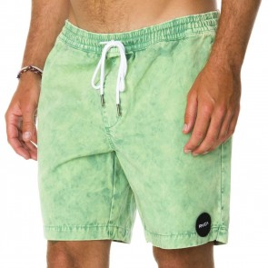 RVCA Koolin Out Shorts - Green Iguana
