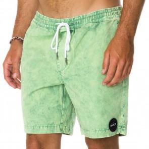 RVCA Koolin Out Shorts - Green Iguana
