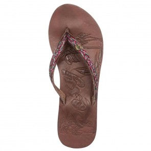 Roxy Women's Chia II Sandals - Brown Combo