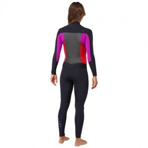 Roxy Women's Syncro 3/2 GBS Chest Zip Wetsuit - 2013/2014