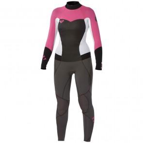 Roxy Women's Syncro 3/2 Flatlock Back Zip Wetsuit
