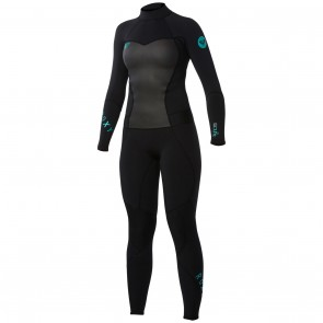 Roxy Women's Syncro 3/2 GBS Back Zip Wetsuit - Black