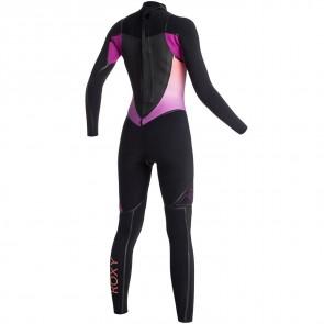 Roxy Women's Syncro LFS 3/2 Back Zip Wetsuit