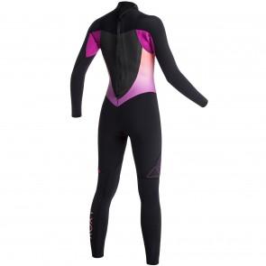Roxy Women's Syncro 4/3 Back Zip Wetsuit