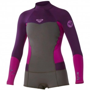 Roxy Women's Syncro 2mm Booty Cut Long Sleeve Spring Wetsuit - 2014/2015