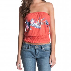 Roxy Women's Kauai Top - Fiery Orange