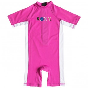 Roxy Wetsuits Toddler So Sandy Spring Suit - Paradise Pink/White