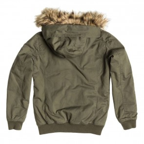 Roxy Women's Locked Out Jacket - Recruit Olive