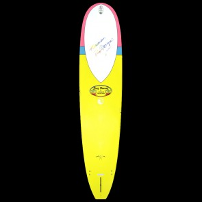 Surftech Surfboards - 9'3'' Donald Takayama In The Pink - Yellow/Blue/Pink