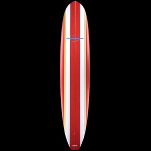 Surftech Surfboards - 9'6'' Robert August What I Ride Tuflite Surfboard - Red/Yellow