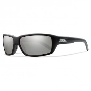 Smith Backdrop Polarized Sunglasses - Matte Black/Chromapop Platinum