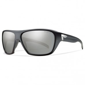 Smith Chief Polarized Sunglasses - Matte Black/Chromapop Platinum