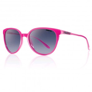 Smith Women's Cheetah Sunglasses - Fuchsia/Indigo Gradient