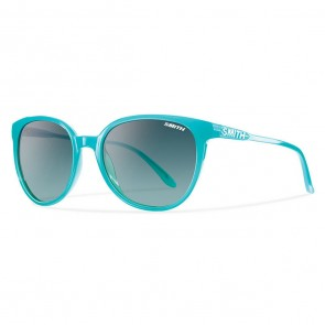 Smith Women's Cheetah Sunglasses - Aqua/Lagoon Gradient