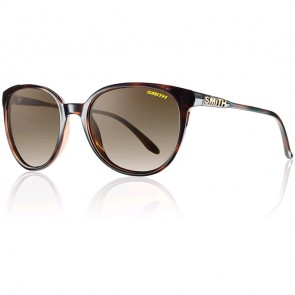 Smith Women's Cheetah Polarized Sunglasses - Tortoise/Brown Gradient