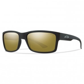 Smith Dolen Polarized Sunglasses - Matte Black/Chromapop Bronze Mirror
