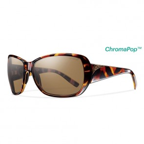 Smith Women's Hemline Polarized Sunglasses - Vintage Tortoise/ChromaPop Brown