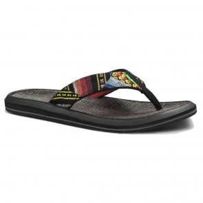 Sanuk Vago Grande Sandals - Blue Poncho