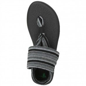 Sanuk Women's Yoga Sling 2 Sandals - Black/White