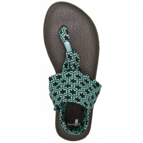 Sanuk Women's Yoga Sling 2 Prints Sandals - Eggshell Tile