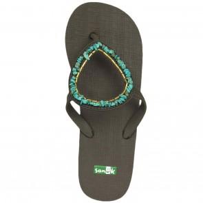 Sanuk Women's Ibiza Gypsy Sandals - Turquoise
