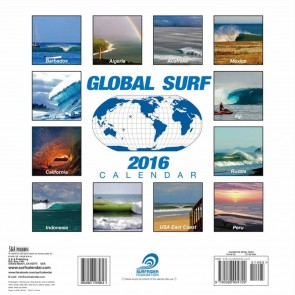 Surfrider Foundation 2016 Global Surf Calendar