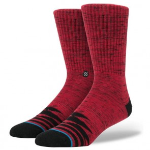 Stance Nautilos Socks - Red