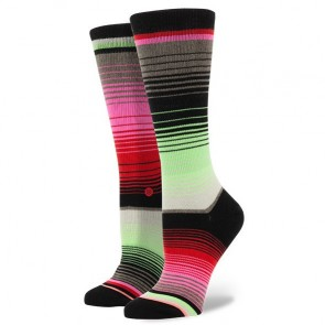 Stance Women's Del Sol Socks - Neon Coral