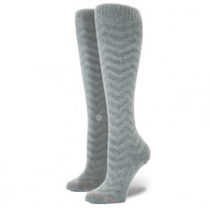 Stance Women's Mount Blue Socks - Heather Glacier