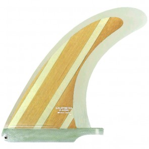 True Ames Fins 7.5'' California Classic - Wood Stripe