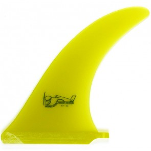 True Ames Fins 9'' Greenough 4A - Yellow