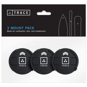 Trace Action Sports Tracker Mount 3 Pack