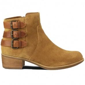 UGG Australia Volta Suede Boots - Chestnut