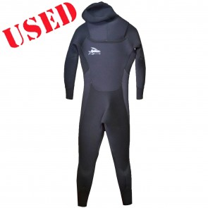 USED Patagonia R4 Hooded Chest Zip Wetsuit - Size S