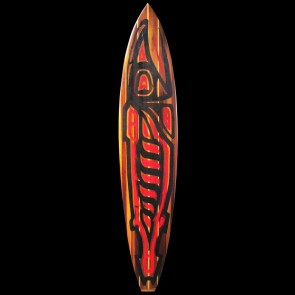 Remy Roberts 8'6 Redwood Raven Art Surfboard