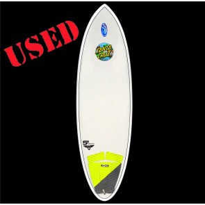 Santa Cruz Surfboards - USED 5'8'' Pumpkin Seed