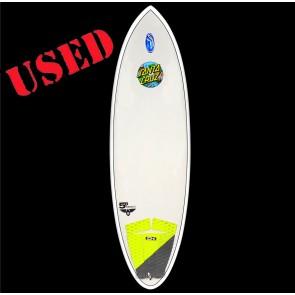 Santa Cruz Surfboards - USED 5'8'' Pumpkin Seed