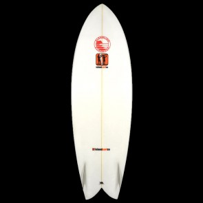 Island Surf Co Surfboards - USED 6'4 Island Surf Twin Fish