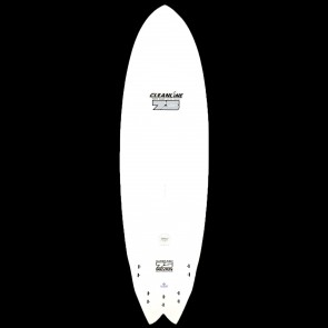 Global Surf Industries Surfboards - USED 6'6 7S Epoxy Superfish