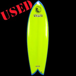 "PerfectWave Surfboards - USED 5'11"" Fish Surfboard"