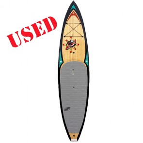 Boardworks Surf - USED 11'6 Raven SUP - Wood Veneer