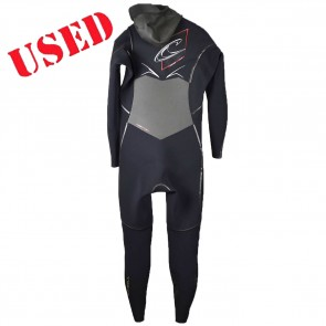 USED O'Neill Pyrotech 4/3 Hooded Wetsuit - Size XL