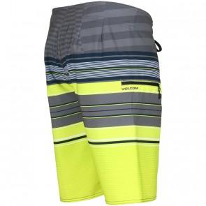 Volcom Lido Saber Boardshorts - Lime Paint