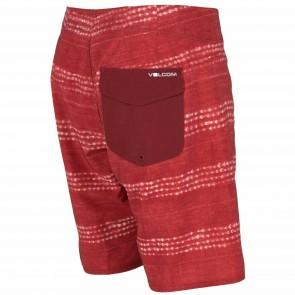 Volcom Lido Carillo Boardshorts - Crimson