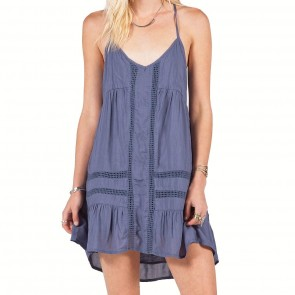 Volcom Women's Cool Breeze Dress - Vintage Navy