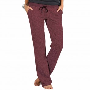 Volcom Women's Lived In Pants - Cabernet