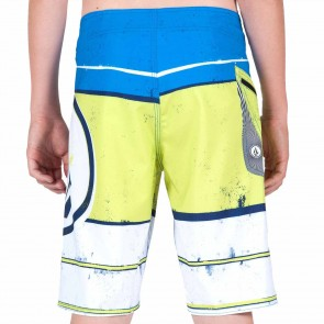 Volcom Youth Lido Ion Boardshorts - White