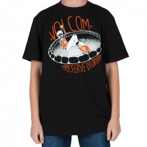 Volcom Youth Heshshredder T - Shirt  - Black