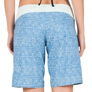Volcom Women's Tribe Hunter Boardshorts - Sandy Indigo