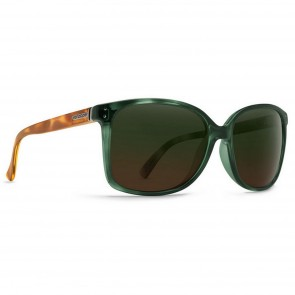 Von Zipper Women's Castaway Sunglasses - Hunter Crystal Tortoise/Green